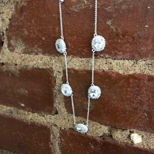 Kate Spade cubic zirconium necklace